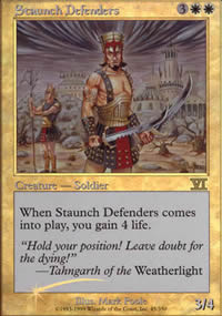Staunch Defenders - FNM Promos