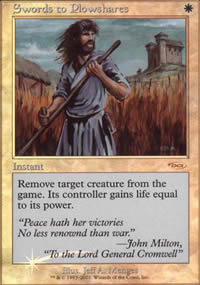 Swords to Plowshares - FNM Promos