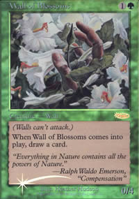 Wall of Blossoms - FNM Promos