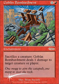 Goblin Bombardment - FNM Promos