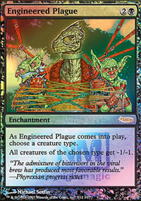 Engineered Plague - FNM Promos