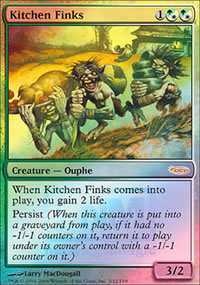 Kitchen Finks - FNM Promos