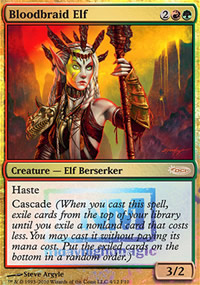 Bloodbraid Elf - FNM Promos