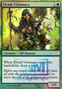 Elvish Visionary - FNM Promos
