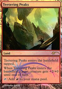Teetering Peaks - FNM Promos