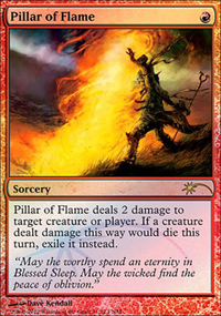 Pillar of Flame - FNM Promos