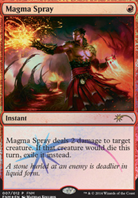 Magma Spray - FNM Promos
