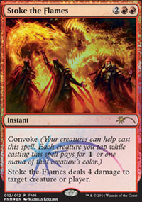 Stoke the Flames - FNM Promos