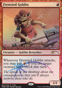 Frenzied Goblin - FNM Promos
