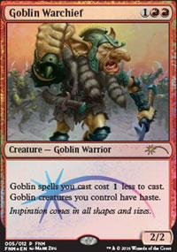Goblin Warchief - FNM Promos