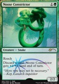 Noose Constrictor - FNM Promos