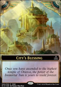 City's Blessing - FNM Promos