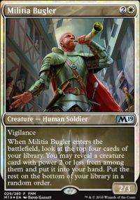 Militia Bugler - FNM Promos