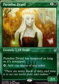 Paradise Druid - FNM Promos