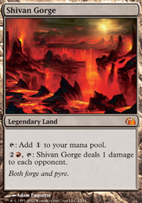 Shivan Gorge - From the Vault : Realms
