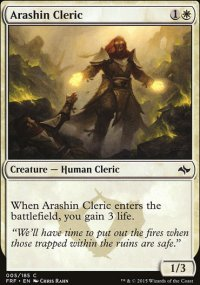 Arashin Cleric - Fate Reforged