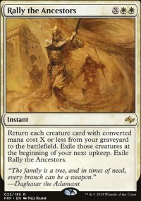 Rally the Ancestors - Fate Reforged