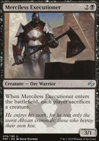 Merciless Executioner - Fate Reforged