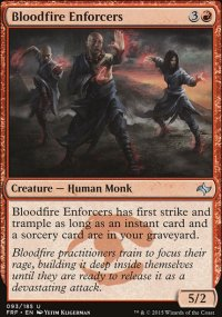 Bloodfire Enforcers - Fate Reforged