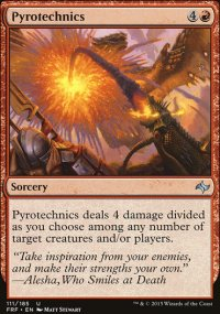 Pyrotechnics - Fate Reforged