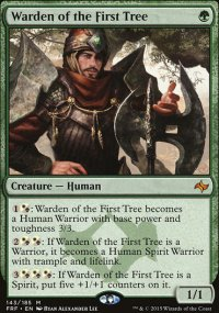 Warden of the First Tree - Fate Reforged