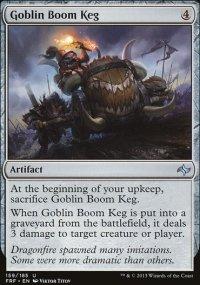 Goblin Boom Keg - Fate Reforged