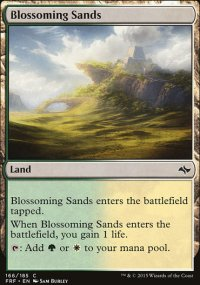 Blossoming Sands - Fate Reforged