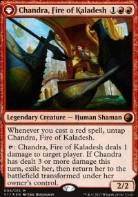 Chandra, Fire of Kaladesh - From the Vault: Transform