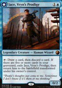Jace, Vryn's Prodigy - From the Vault: Transform