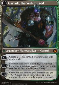Garruk, the Veil-Cursed - From the Vault: Transform