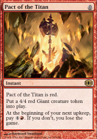 Pact of the Titan - Future Sight