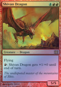 Shivan Dragon - From the Vault : Dragons