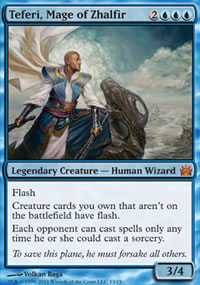 Teferi, Mage of Zhalfir - From the Vault : Legends