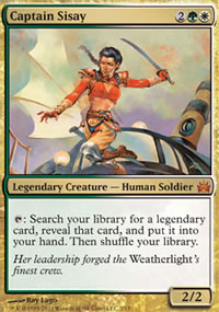 Captain Sisay - From the Vault : Legends