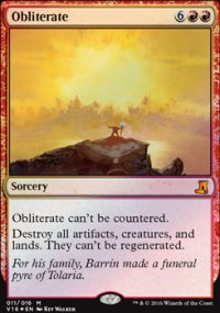Obliterate - From the Vault : Lore