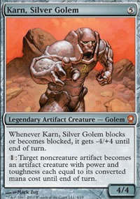 Karn, Silver Golem - From the Vault : Relics