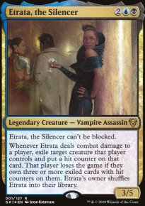Etrata, the Silencer - Guilds of Ravnica - Guild Kits