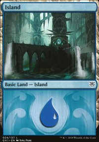 Island 1 - Guilds of Ravnica - Guild Kits