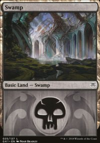 Swamp 1 - Guilds of Ravnica - Guild Kits