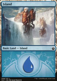 Island 2 - Guilds of Ravnica - Guild Kits