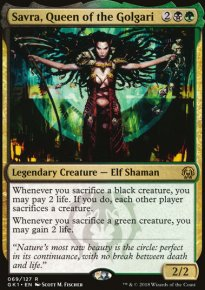Savra, Queen of the Golgari -