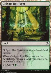 Golgari Rot Farm - Guilds of Ravnica - Guild Kits