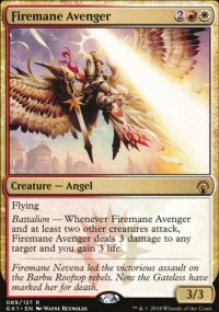 Firemane Avenger - Guilds of Ravnica - Guild Kits