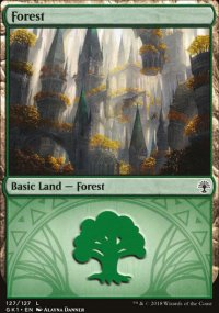 Forest 2 - Guilds of Ravnica - Guild Kits