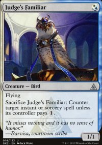 Judge's Familiar - Ravnica Allegiance - Guild Kits