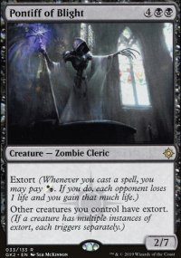 Pontiff of Blight - Ravnica Allegiance - Guild Kits