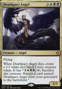 Deathpact Angel - Ravnica Allegiance - Guild Kits