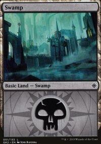 Swamp 1 - Ravnica Allegiance - Guild Kits