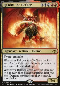 Rakdos the Defiler - Ravnica Allegiance - Guild Kits
