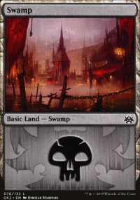 Swamp 2 - Ravnica Allegiance - Guild Kits